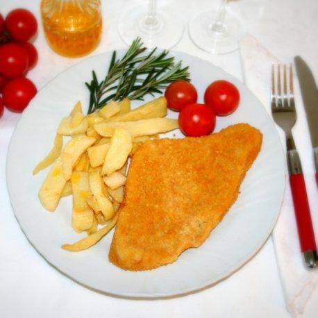 Cotoletta di Pollo con Patate 250 gr.