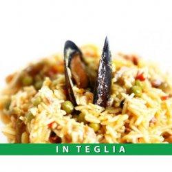 Paella alla Valenciana teglia da 1,5 kg.