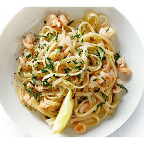 Tagliatelle con Gamberi e Zucchine 300 gr.