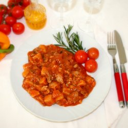 Bocconcini di Pollo al Pomodoro 250 gr.