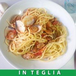 Spaghetti alle Vongole teglia da 1,5 kg.