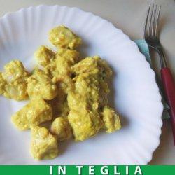 Pollo al Curry con Riso Basmati teglia da 1,5 kg.