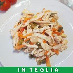 Straccetti di Pollo con Verdure Croccanti teglia da 1,5 kg.