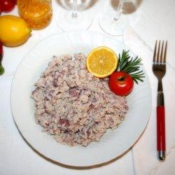 Risotto con Chianti e Salamella 300 gr.