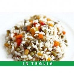 Insalata di Riso Vegetariana teglia da 1,5 kg. (Piatto Freddo)