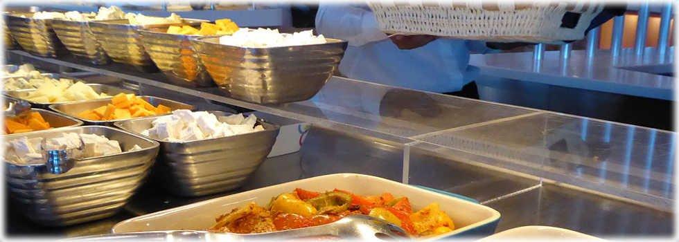Ampia gamma di piatti pronti